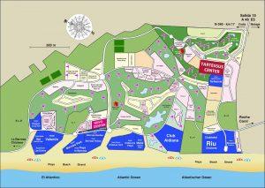 Mapa Novo Sancti Petri